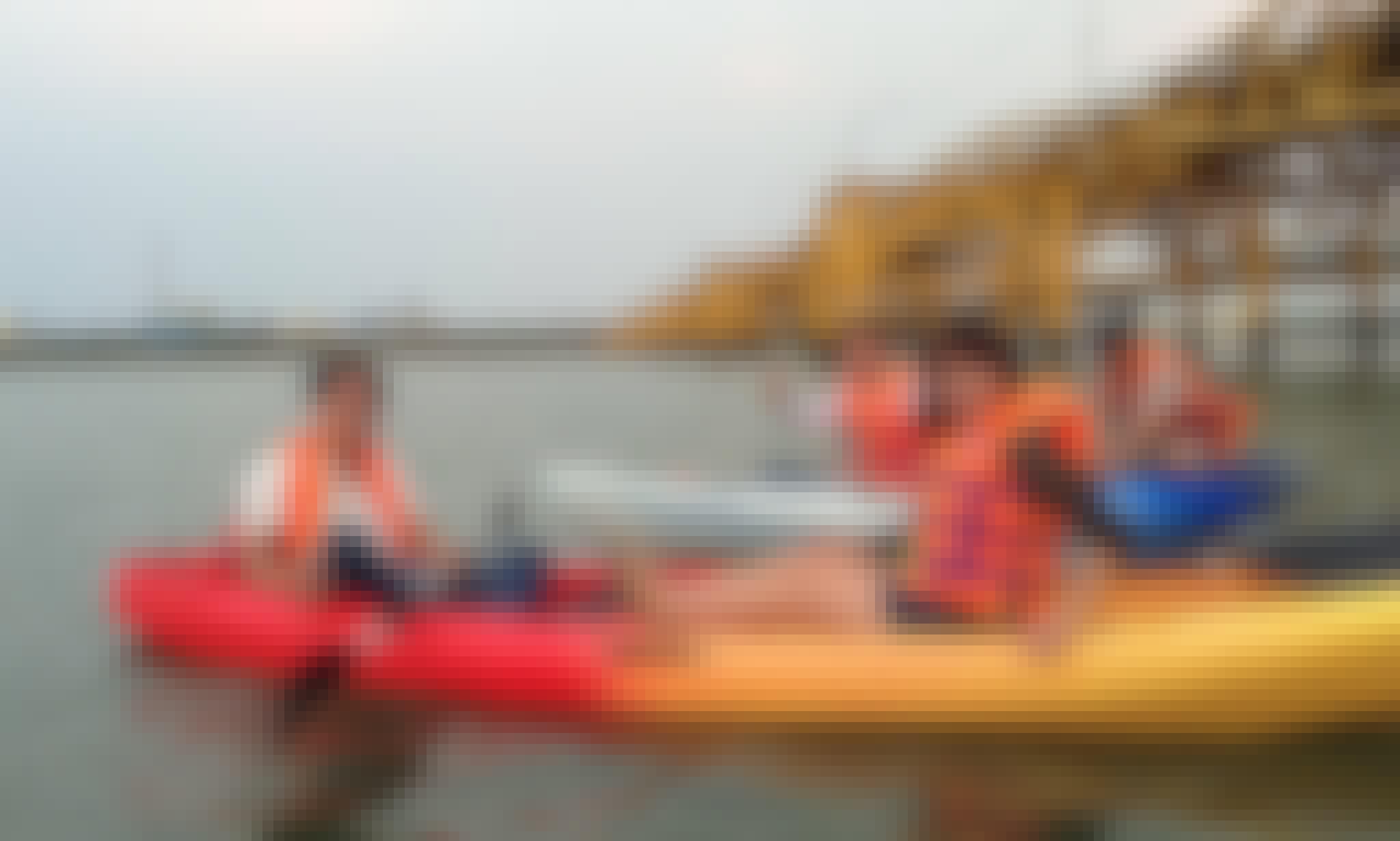 Kayak Rental in Da Nang city, Vietnam