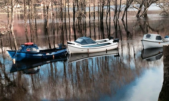 Explore Loch Tay River On Self Drive Boat Hire