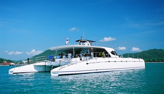 Catamaran Island Tour Pattaya / 1 Pax