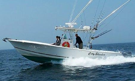 32' Center Console Fishing Charter in Winthrop, Massachusetts