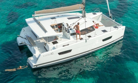 Explore Seget Donji, Croatia By 40' Lucia Cruising Catamaran