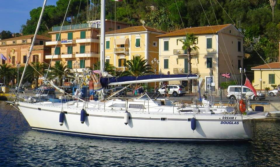 Explore Liguria, Italy on 55' Atlantic 55 Cruising Monohull