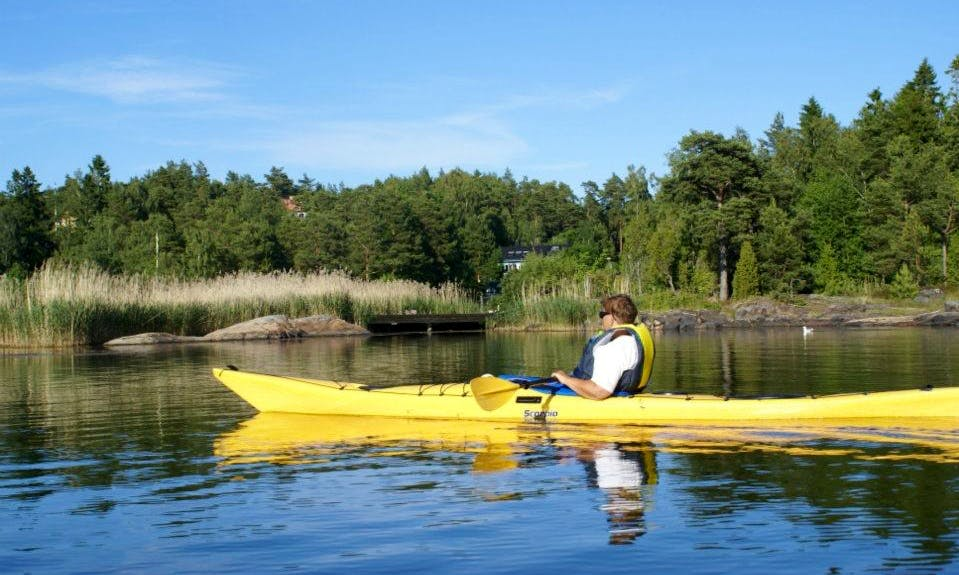 Explore Oxelösund, Sweden on Single Kayak