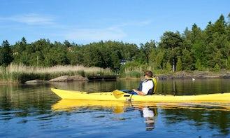 Explore Oxelösund, Sweden on Single Kayak