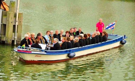 Rent Lois Canal Boat In Makkum, Friesland