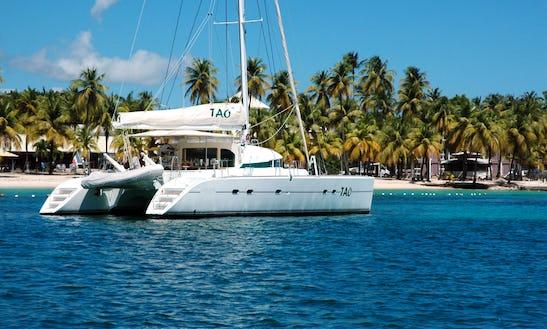 Cruising Catamaran Rental In Sainte-anne