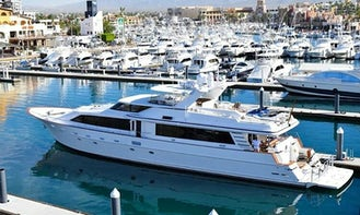 110' Power Mega Yacht available to charter in  Cabo San Lucas, Mexico
