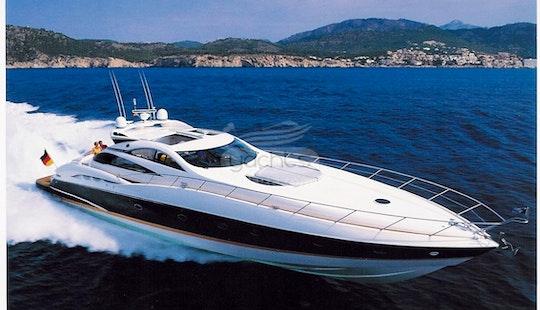 75' Sunseeker Motor Yacht Charter In Puerto Vallarta, Mexico