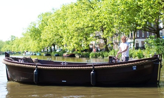 Rent Electric Boat Mr. Brown In Amsterdam, Netherlands