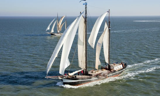 Charter 108' Schooner In Harlingen, Netherlands