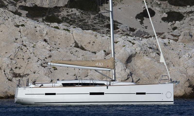 Charter 41' Balthazar King Cruising Monohull in Kalkara, Malta