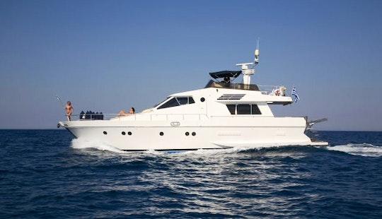San Lorenzo 58 Nefeli Motor Yacht Charter In Pireas, Greece