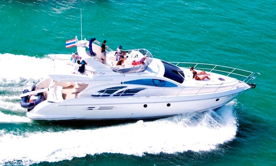 Charter 52' Power Mega Yacht In Phuket, Thailand