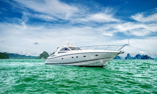 Charter 53' Power Mega Yacht In Phuket, Thailand