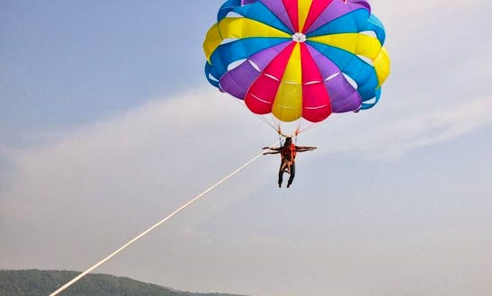 Electrifying Parasailing Ride In Malvan, Maharashtra