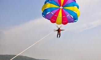 Electrifying Parasailing Ride in Malvan, Maharashtra
