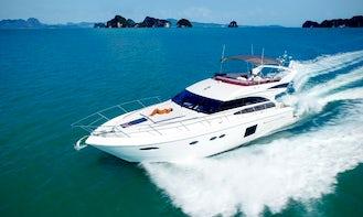 Charter 64' Power Mega Yacht in Phuket, Thailand