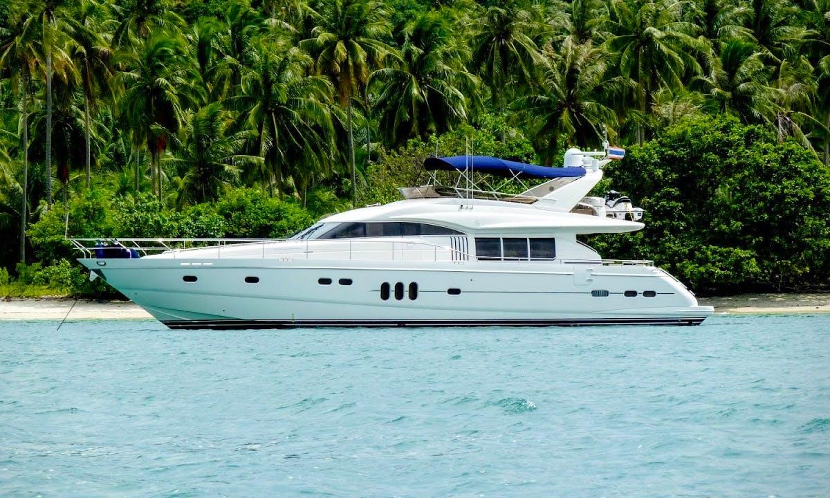 Charter 74' Power Mega Yacht in Phuket, Thailand
