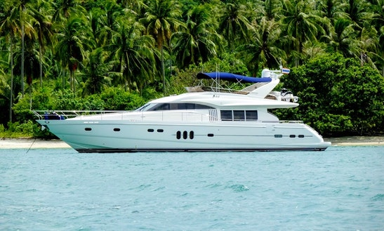 Charter 74' Power Mega Yacht In Phuket, Thailand