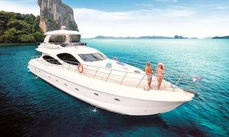 Charter Lamberti 80' Power Mega Yacht in Phuket, Thailand