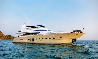 Charter Bilgin 98' Power Mega Yacht in Phuket, Thailand