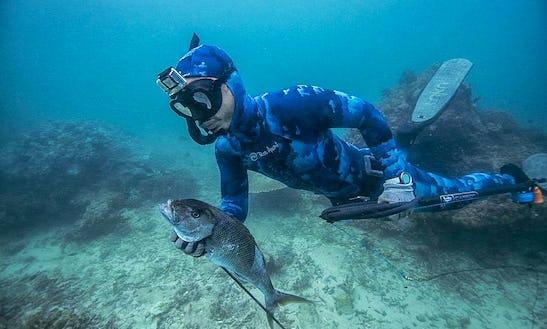 Enjoy Spearfishing In Bali, Indonesia