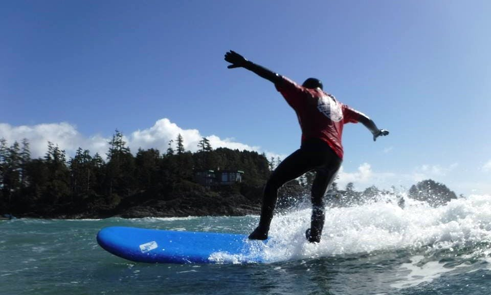 Learn to Surf in Tofino, BC with the best Instructor