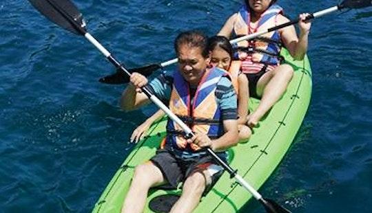 Admire Kota Kinabalu, Sabah On A Double Kayak Tour