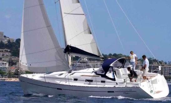 34ft Beneteau Oceanis Clipper Yacht In Porto Santo Stefano, Italy