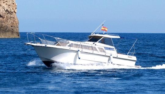 Enjoy Fornells, Spain On Atlanta 27 Yacht