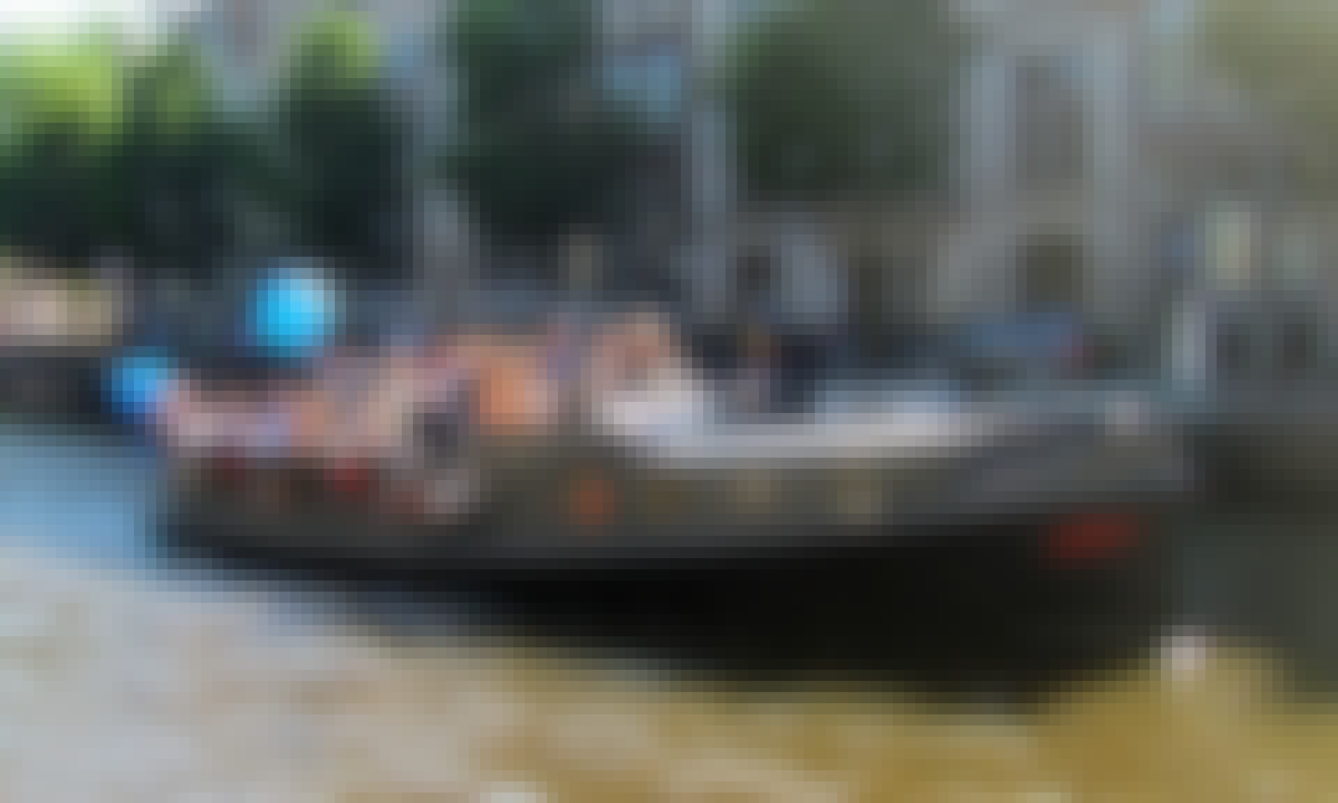 Hire 49' HMS Friendship Canal Boat in Amsterdam, Netherlands