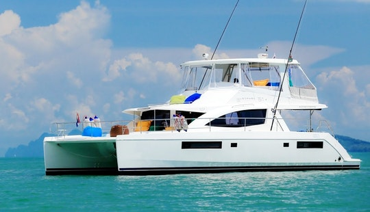 Charter 51' Power Catamaran Charter In Phuket, Thailand