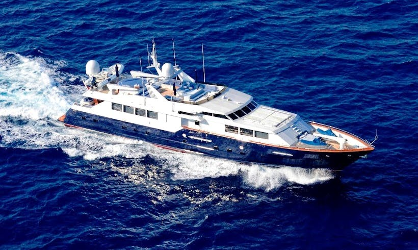 Charter 121' Power Mega Yacht in Phuket, Thailand