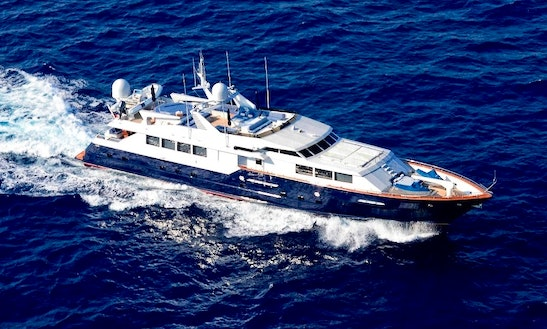 Charter 121' Power Mega Yacht In Phuket, Thailand