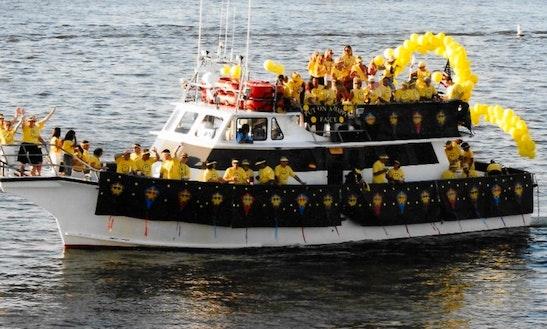 Charter 65' Dmr Passenger Boat In Atlantic City, New Jersey
