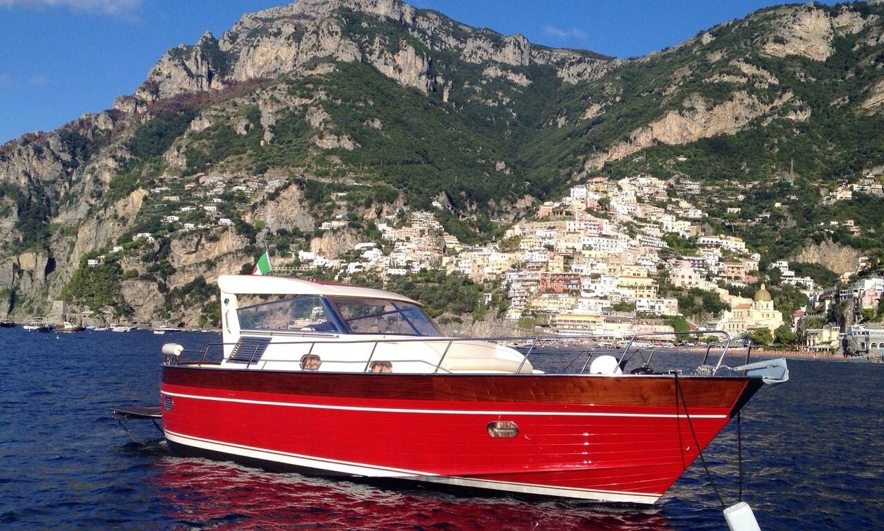 Private Day Charter On 38' Aprea Mare Motor Yacht In Positano, Italy