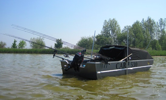 Enjoy Fishing In Bovenkarspel, Noord-holland On 17' Cuddy Cabin