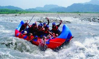 Enjoy Rafting Trips in Fengbin Township, Taiwan