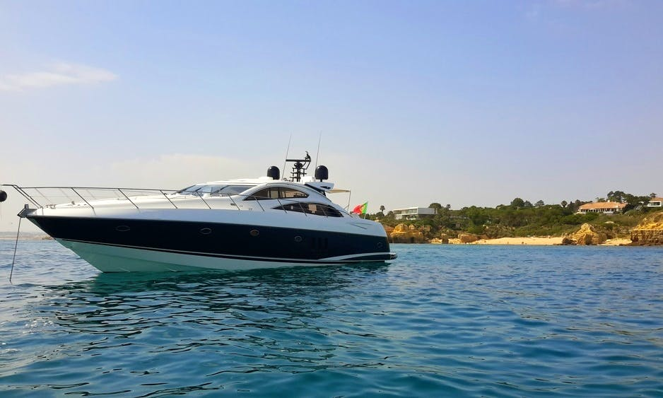 Sunseeker Predator 72ft Power Mega Yacht Charter in Quarteira