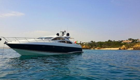 Sunseeker Predator 72ft Power Mega Yacht Charter In Quarteira