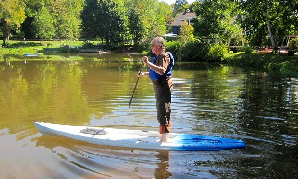 Stands Up Paddleboarding With Overnight Stay On Lake Wawaka, Halcottsville