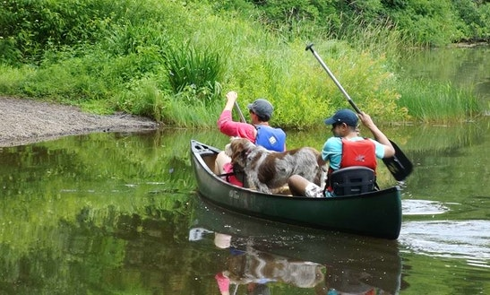 Enjoy Canoeing On Lake Wawaka, Halcottsville