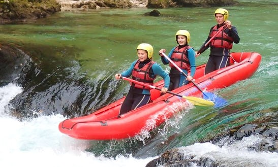 Enjoy Rafting Trips On River Salza In Austria
