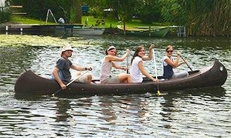 Rent 17' Canoe in Brandenburg, Germany