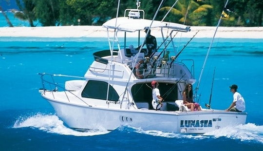 Bora Bora Fishing Charter On 34ft