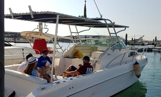 Fishing Charter On 34' Silver Craft Cuddy Cabin In Dubai, Uae