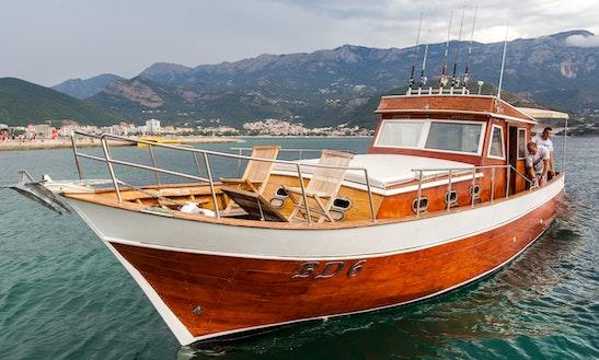 Charter This 39ft Passenger Boat In Budva, Montenegro