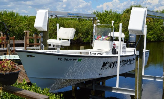 Enjoy Fishing In Placida, Florida 24' Center Console