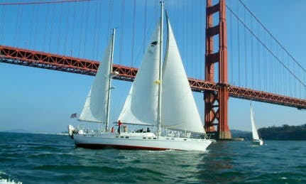 "Sail San Francisco Bay On ""Glory Days""  Yacht with Captain Pam"