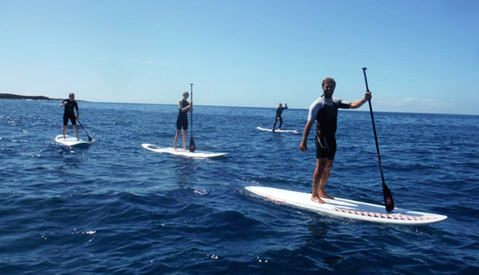 Enjoy Stand Up Paddleboard Lessons In Canarias, Spain